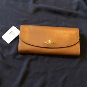 New Brown Coach Wallet